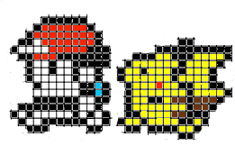 pokemon pixels by KittySam