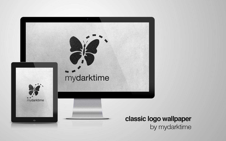mydarktime classic logo wallpaper