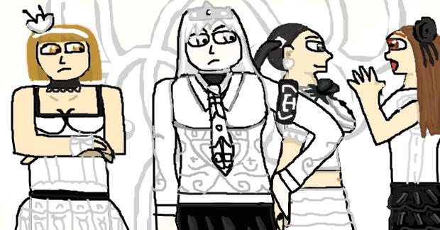 Animedia.inc: The White Tiaras by SpongyBoy17