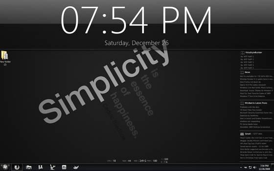 Simplicity Version 1.5 Win7