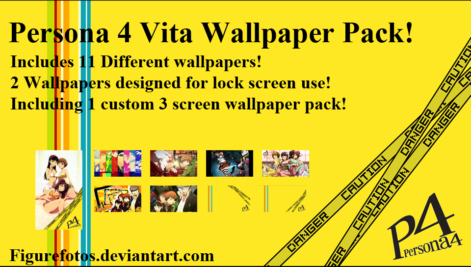 Persona 4 Vita Wallpapers By PlasticSparkPhotos On DeviantArt