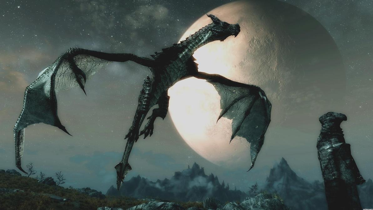Skyrim Dragon TF - The Cursed Flame by Razordraac on DeviantArt