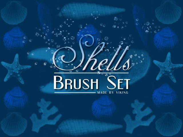 Shells brushes by viKING