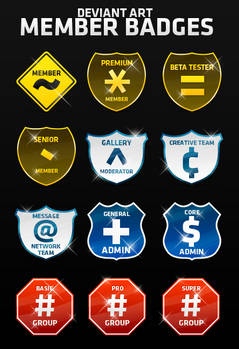 Deviant Art Member Badges