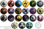 Pokemon Opal Type Symbols