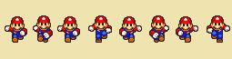 SMBZ Mario's Forward Run
