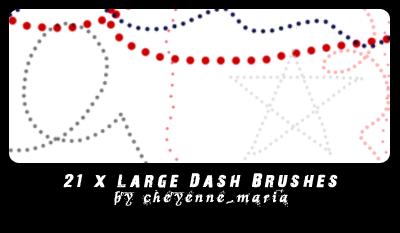 Brushes - Dots by cheyennemaria