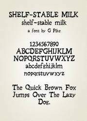 Shelf-Stable Milk by twapa