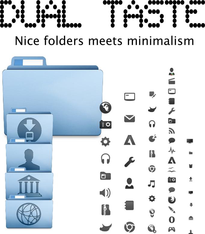 Dual Taste Icons: Mac-ish by underboy
