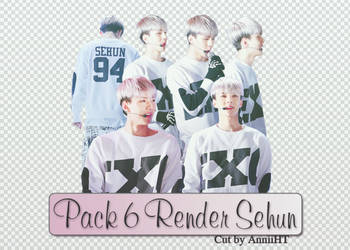 [20160215] Pack Render Sehun by HuongThao