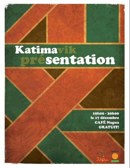 Katimasentation poster by spen
