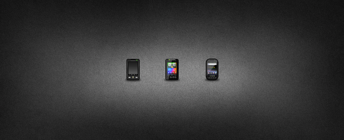 Mini Android Icons by chancellorr