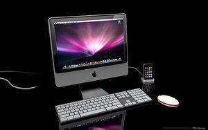 desktop computer whit texture by 3DEricDesign