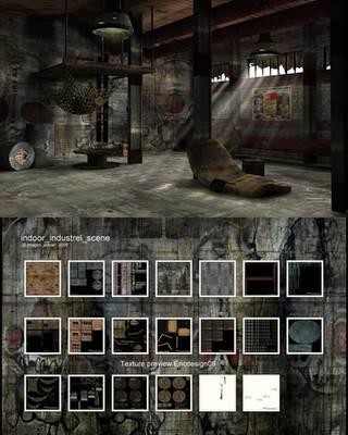 indoor industriel free scene
