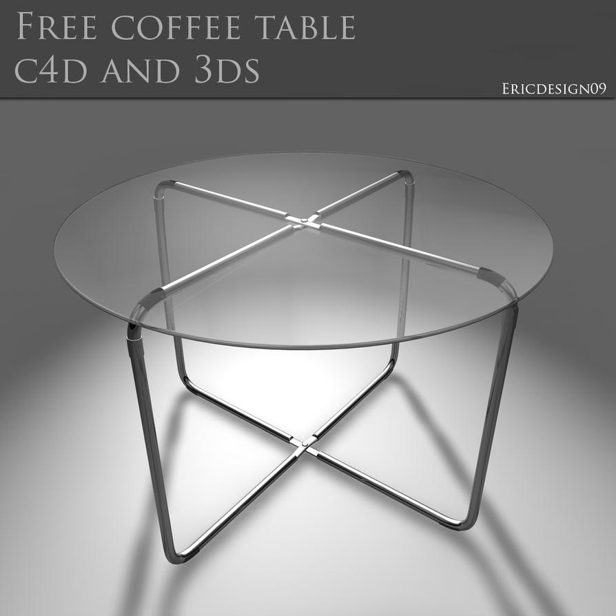 Free Coffee Table C4d And 3ds By 3DEricDesign On DeviantART