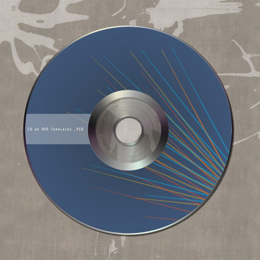 free cd or dvd templates