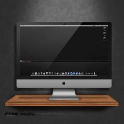 iMac free psd