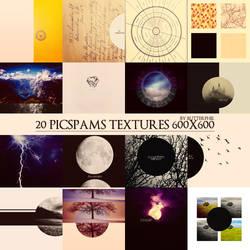 20 picspams textures