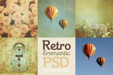 Retro and romantic PSD by Butterphil