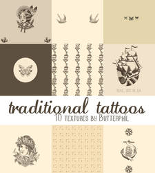 Traditional Tattoos Textures