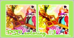 PSD coloring 3 deme by Dementedscream