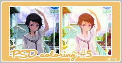 PSD coloring 5 deme by Dementedscream