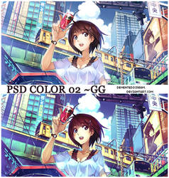 PSD color O2 ~GG by Dementedscream