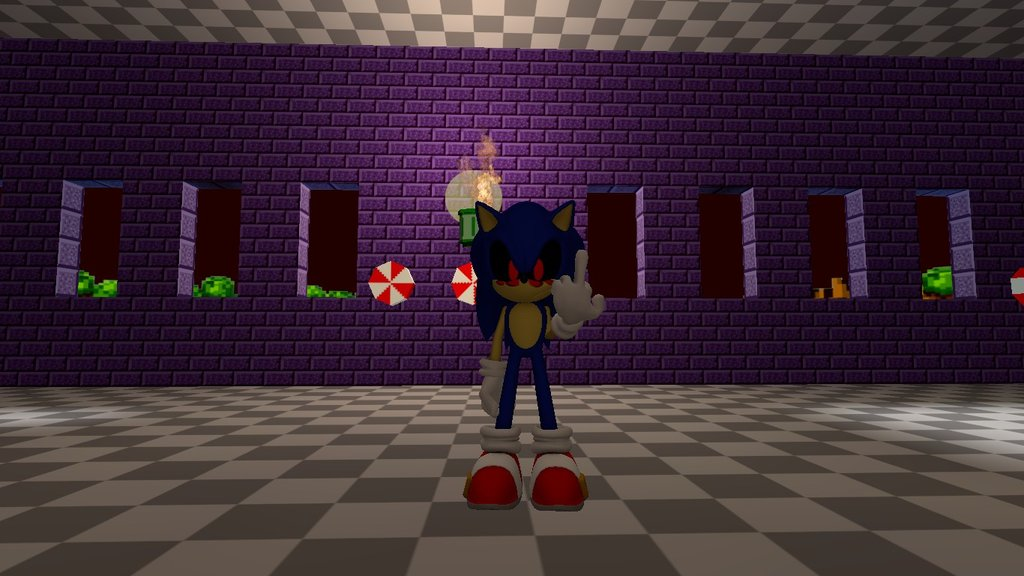 💐 Sonic exe game over music | game  2019-06-24