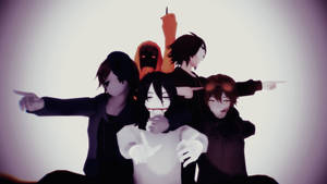 [CREEPYPASTA MMD] CREEPYPASTA BOYS MODEL PACK 1 by LostWight