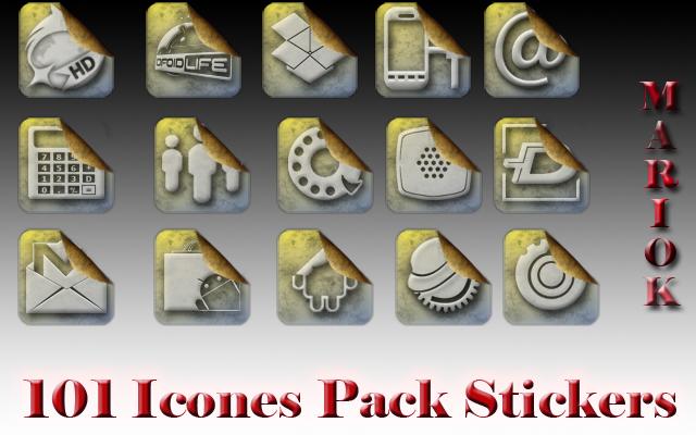 icones sticker by mariok13
