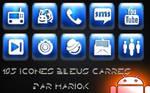 icone aqua bleu inverse