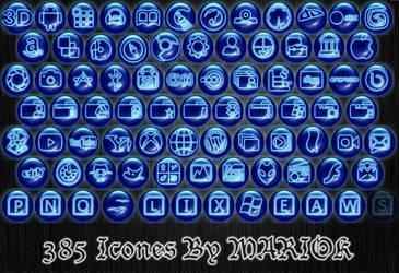 Bleu rond effet bleuete by mariok13