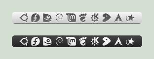 Elementary distributor-logos by zpletan