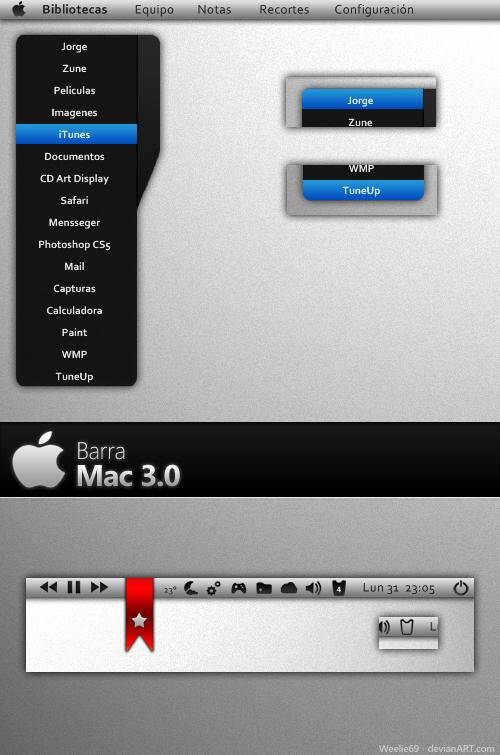 Barra Mac 3.0 by Weelie69