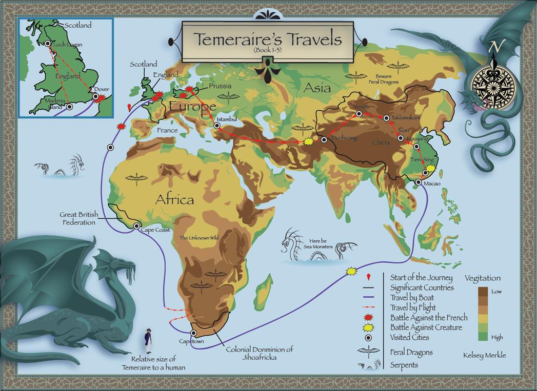 Temeraire's Travels by PurpleMerkle