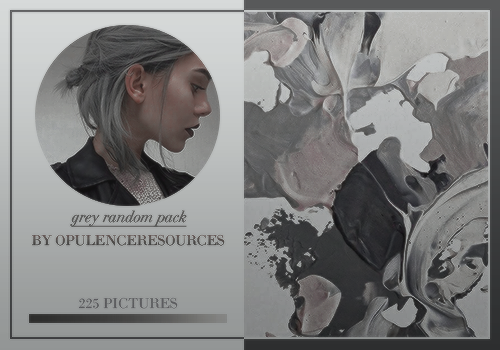 Grey Random Pack By Opulenceps by OpulenceResources
