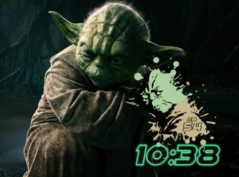 Yoda Clock by by-segaal