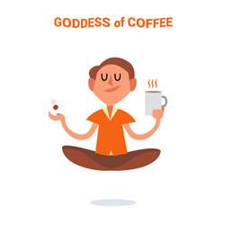 Everyday Gods GIFs - Goddess of Coffee