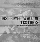 Destroyed wall textures No.1