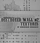 Destroyed wall textures No.2