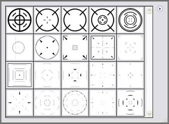 Shapeset 04 Crosshairs
