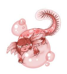 Pinkles the Axolotl