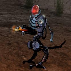 Alien Creature 1 - Animated