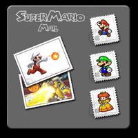 SuperMario Mail icons