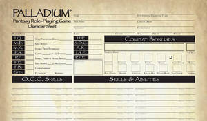 Pathfinder Style Palladium Fantasy CS FILLABLE by MADMANMIKE