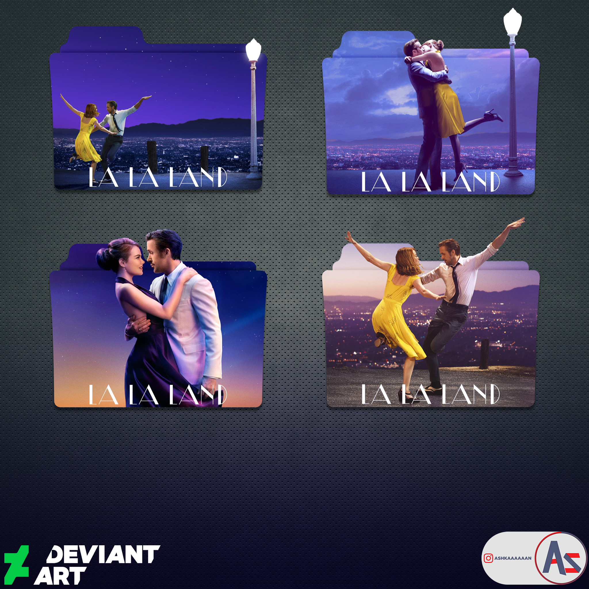 La La Land 2016 Folder Icon Pack By Ashkaaaaaan On Deviantart