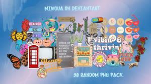 Random Png Pack #2 By Miwqua