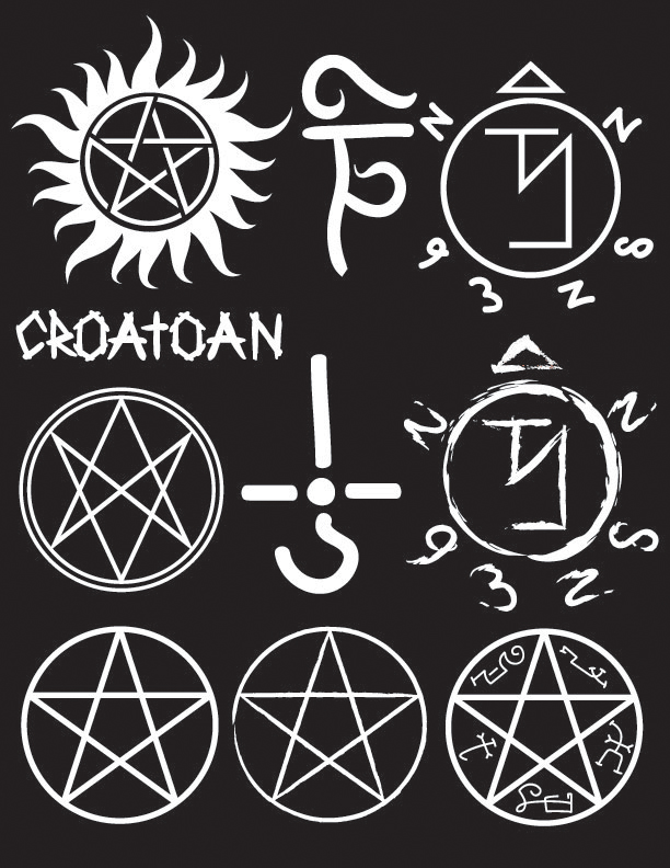 Supernatural Symbols Brush Set By Asemoth On Deviantart