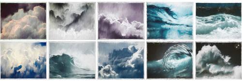 Beautiful Storm Art Backgrounds