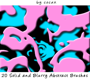 Abstract Brushes by Cocax